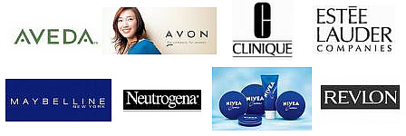 Cosmetic companies in China include: Aveda, Avon, Clinique, Estee Lauder, Maybelline, Neutrogena, Nivea, NuSkin, Olay, Revlon, ...manufacturing in China.