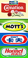American food corporations in China.  Carnation, Mott's, Kraft, and Hormel are only a few. Also a new report shows that Kraft and others also own America's top Organic food companies.  ...so where do the get their ingredients? China, or America?